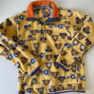Patagonia Synchilla Frog Yellow Fleece Jacket
